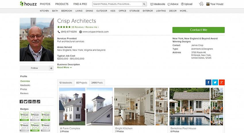 Crisp Architect Profile on Houzz