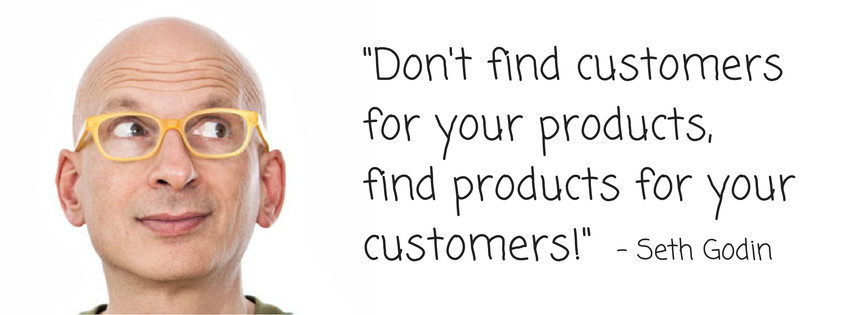 Seth Godin on Marketing Quote