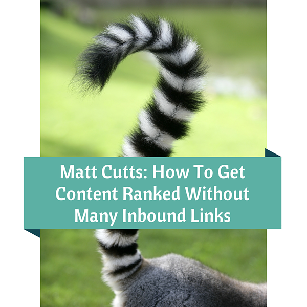 How to get content ranked without many inbound links