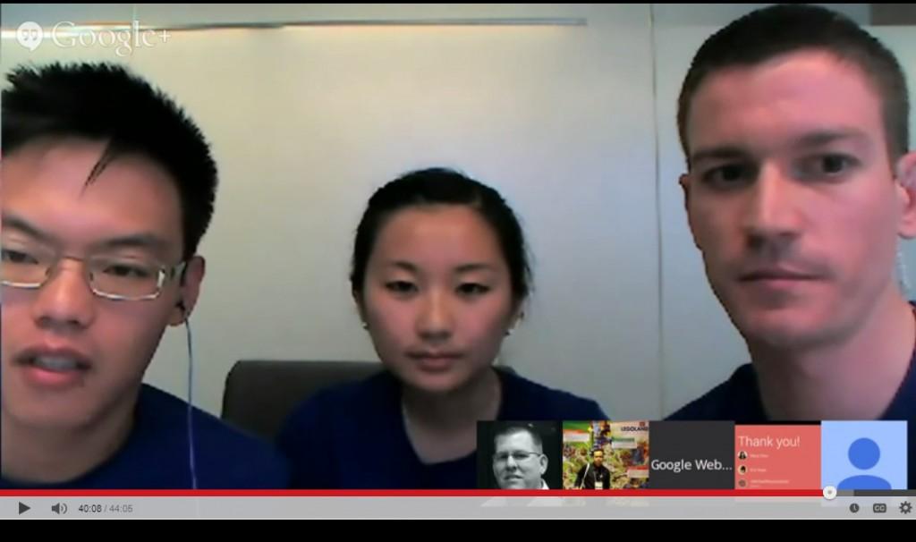 Eric Kuan, Mary Chen & Michael Wyszomierski