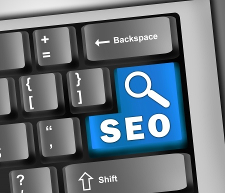 Magic SEO Button Blue