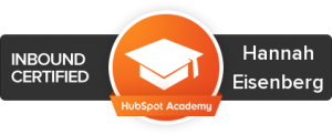 Inbound Marketing Certified with Hubspot