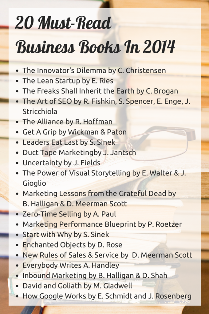 20 Business Books for 2014
