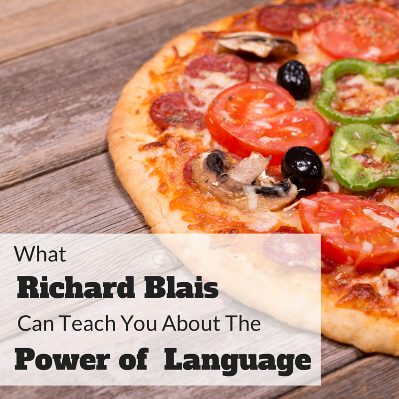 What Richard Blais Can Teach You About The Power Of Language