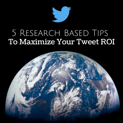 5 Research Based Tips To Maximize Your