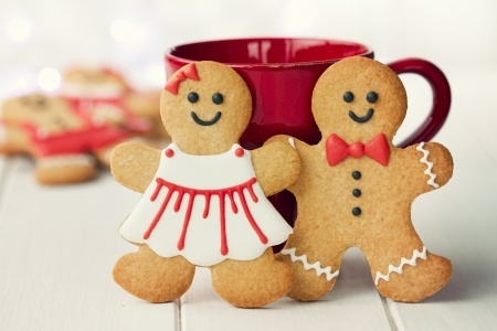Gingerbread Man Couple visualizing the buyer persona concept.