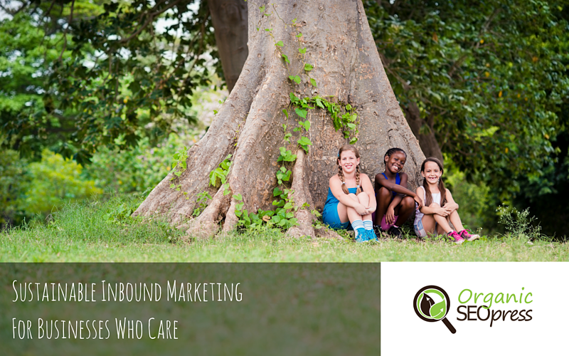 Conference Banner: Inbound Marketing for business who care