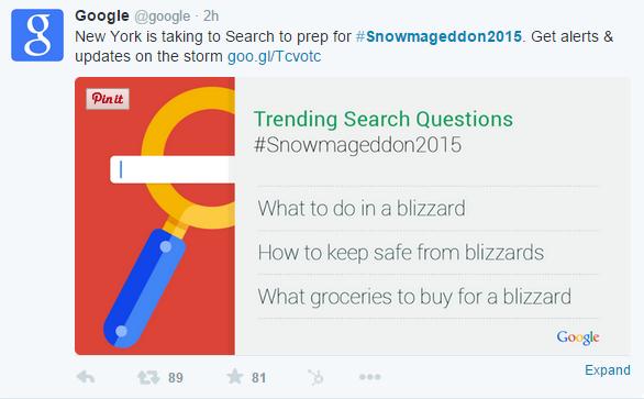 Google Crisis Maps Tweet