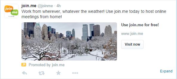 #blizzardof2015 join me tweet