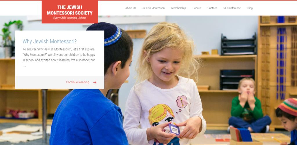 Jewish Montessori