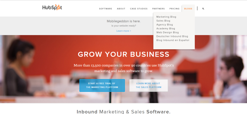 HubSpot Website