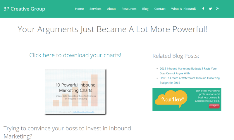Hubspot Thank You Page
