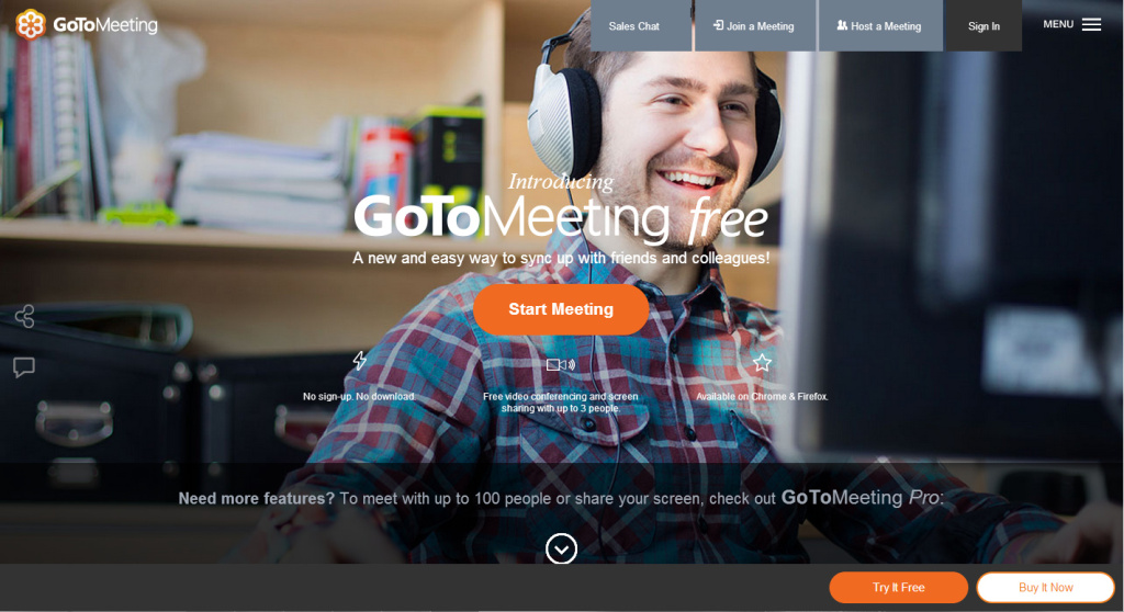 Go To Meeting Landing Page