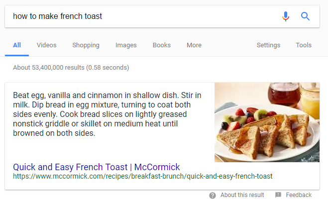 GoogleSnippetFrenchToast.png