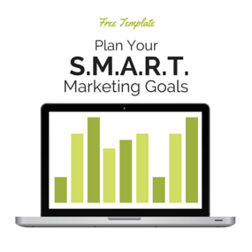Free Template: Smart marketing goals planning