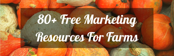Marketing Resources for Farms