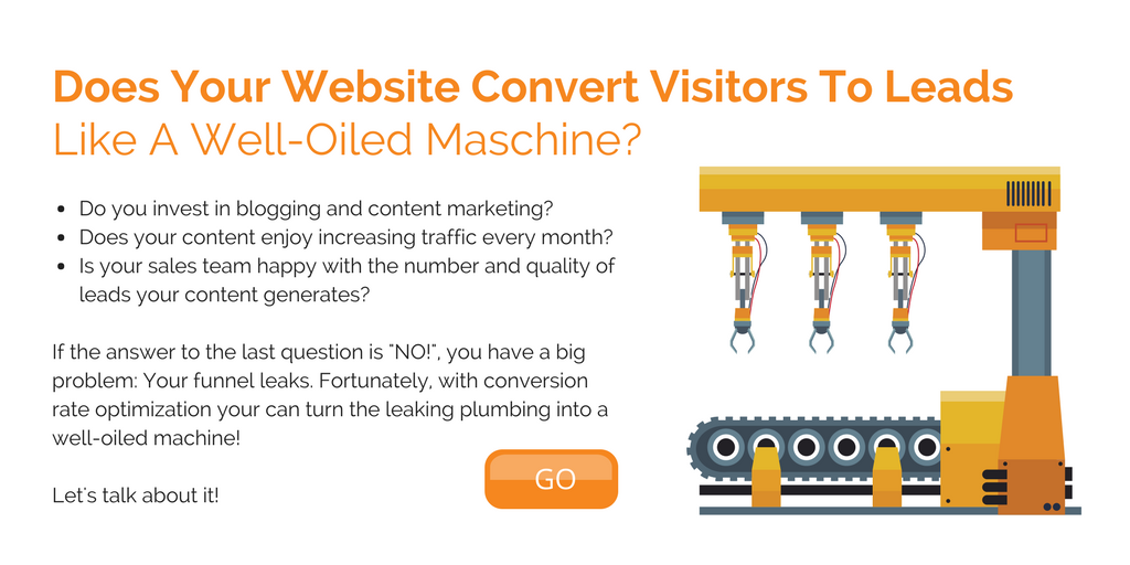 Conversion Rate Optimization CTA