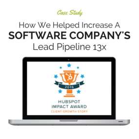 Click here to read the Inbound Marketing software Company case study