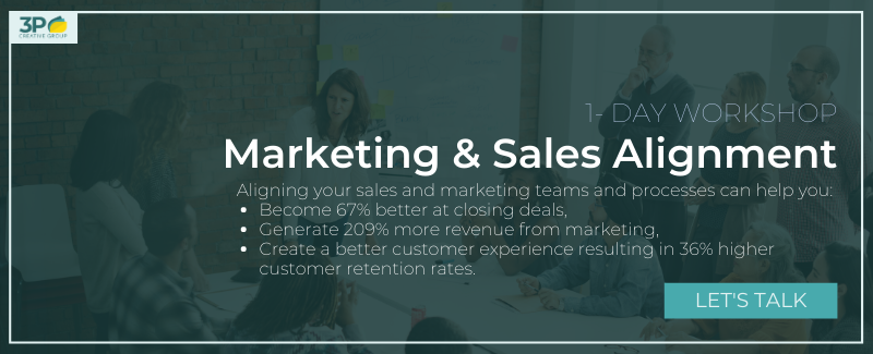 Click here to schedule a consultation to find out if the Sales & Marketing Alignment Inbound Marketing Workshop is for you