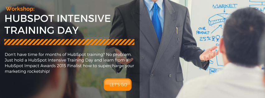 Click here to schedule a consultation for a HubSpot Intensive Training Day